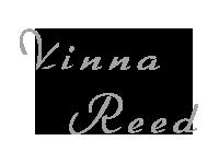 Vinna Reed signature